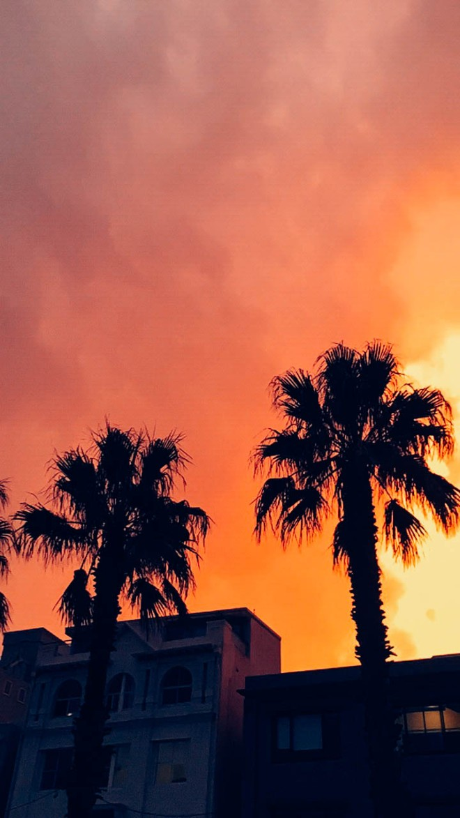 Bondi beach sky