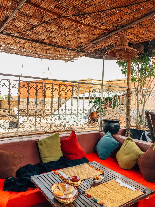 Souk Cafe rooftop terrace