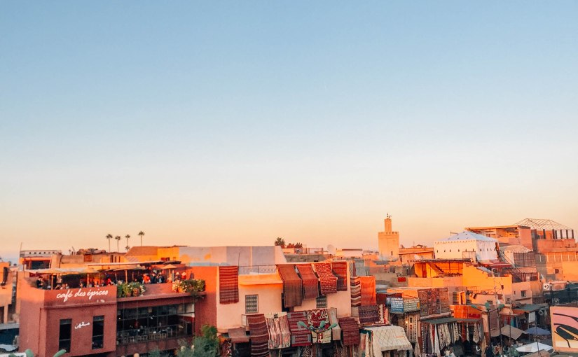 5x The Best Roof Top Bars in Marrakesh