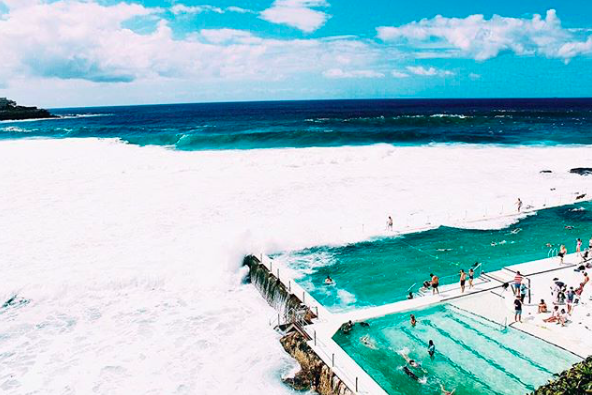 Bondi Icebergs pool and  beach