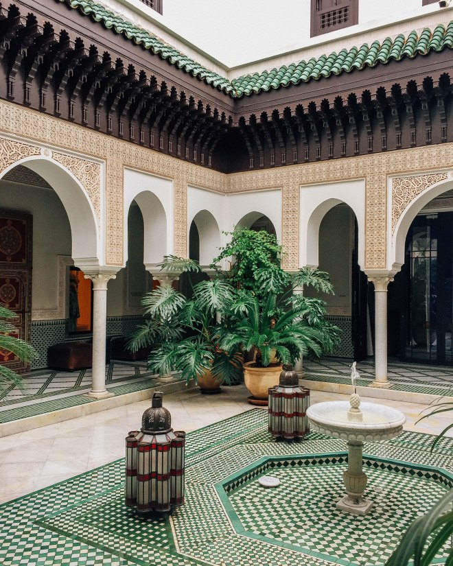 Dat spa entry at La Mamounia