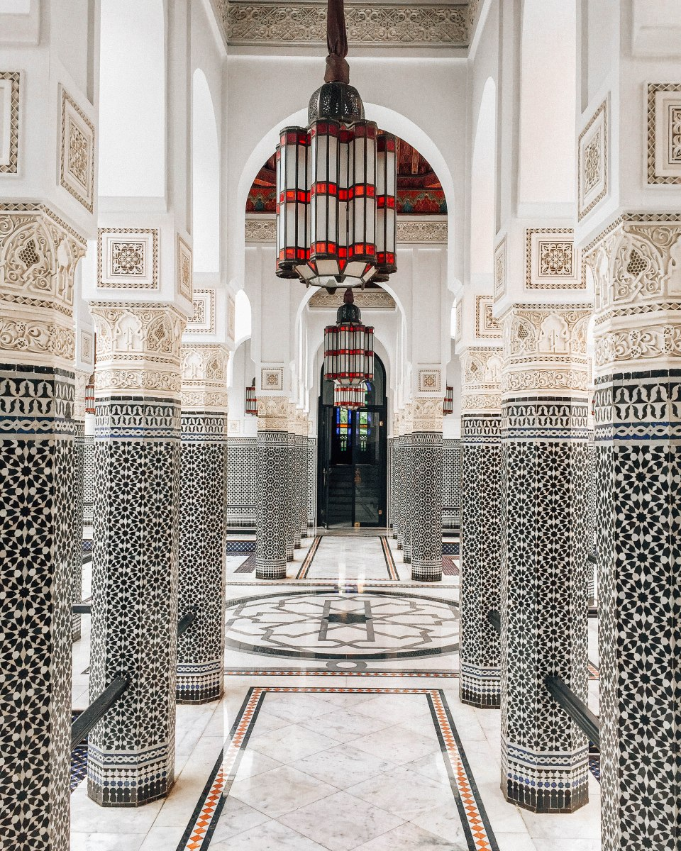 PAYDAY LUXURY: La Mamounia, Marrakesh