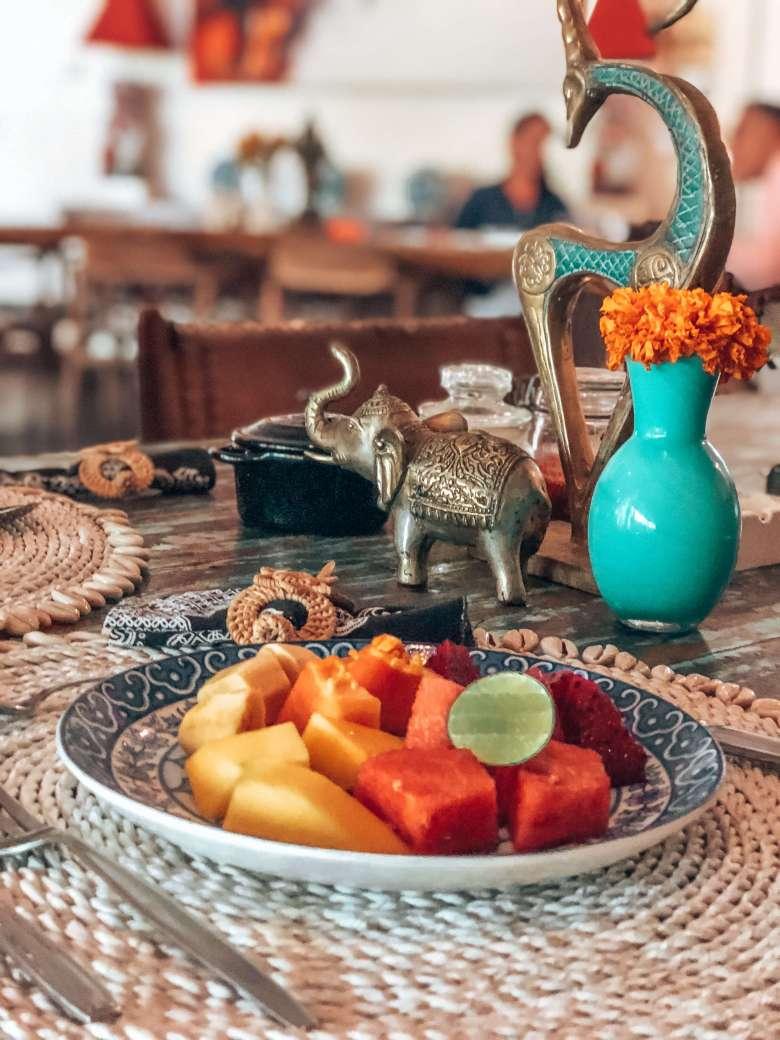 Breakfast Villa Karisa Bali