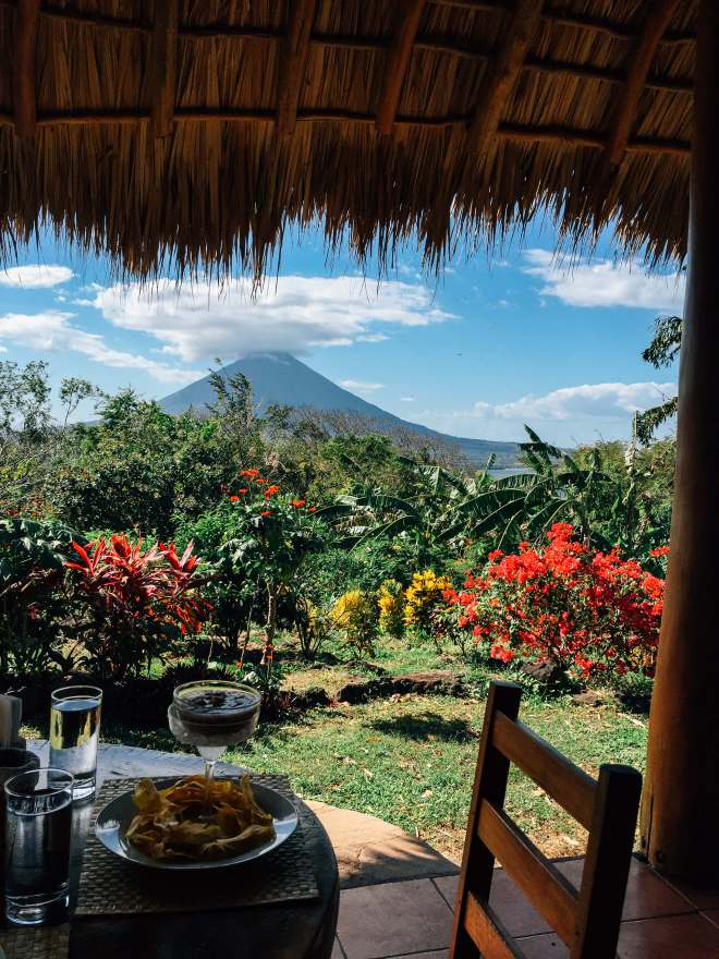 Dinner at Totoco Eco-Lodge in Ometepe Island