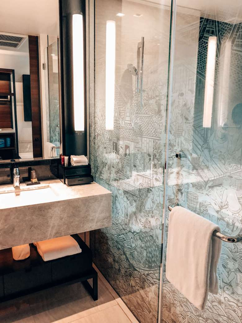 Bathroom Bangkok Marriott Hotel Surawongse