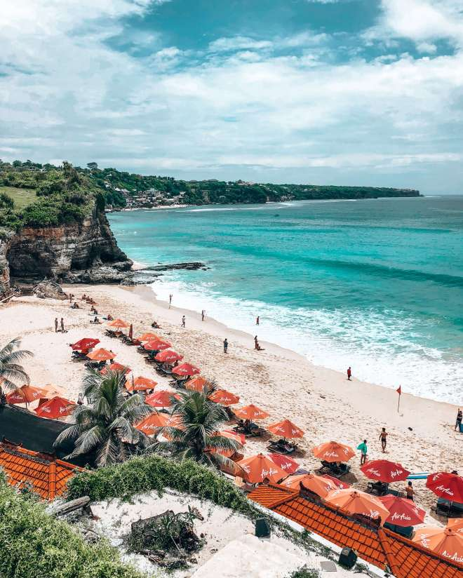 Dreamland beach view