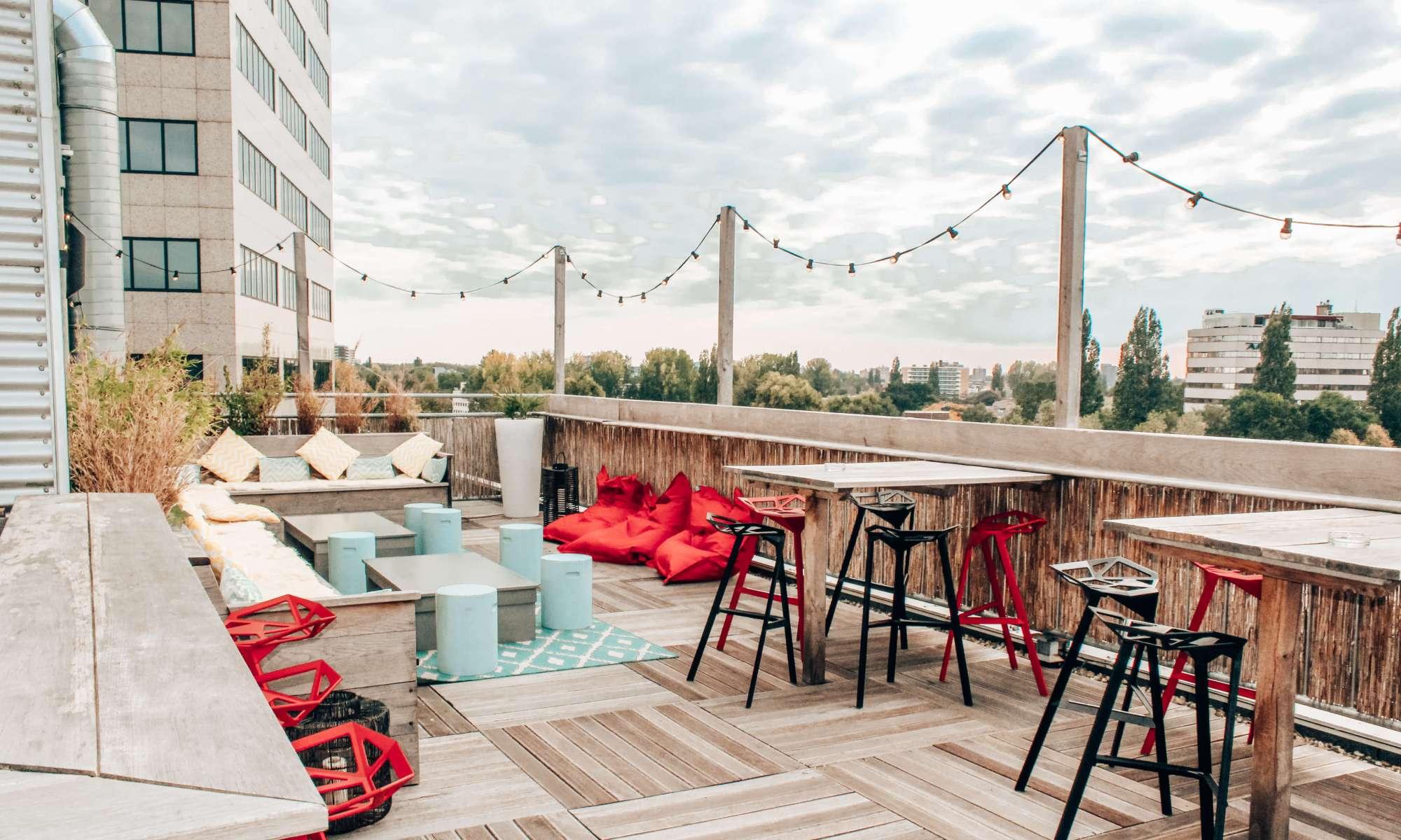 Rooftop terrace Cityden Up