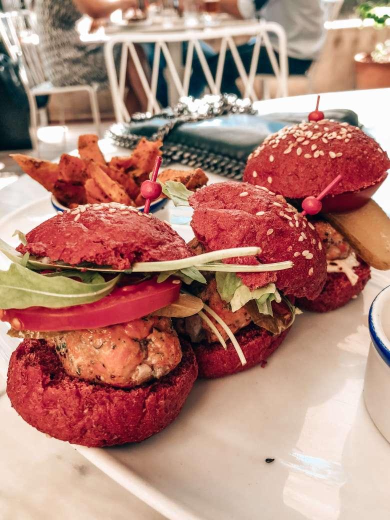 Flex & Kale burgers
