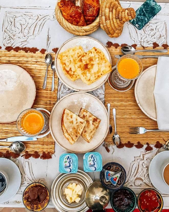 Breakfast Riad Marrakech