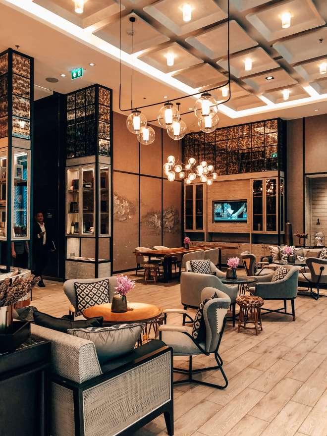 Lobby Bangkok Marriott Surawongse
