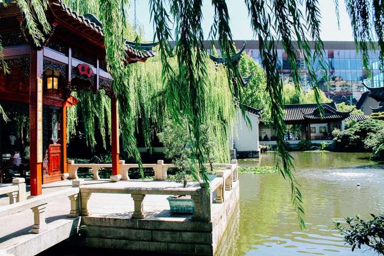Chinese gardens of friendship Sydney