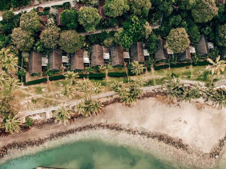 Away Resort Koh Kood drone view