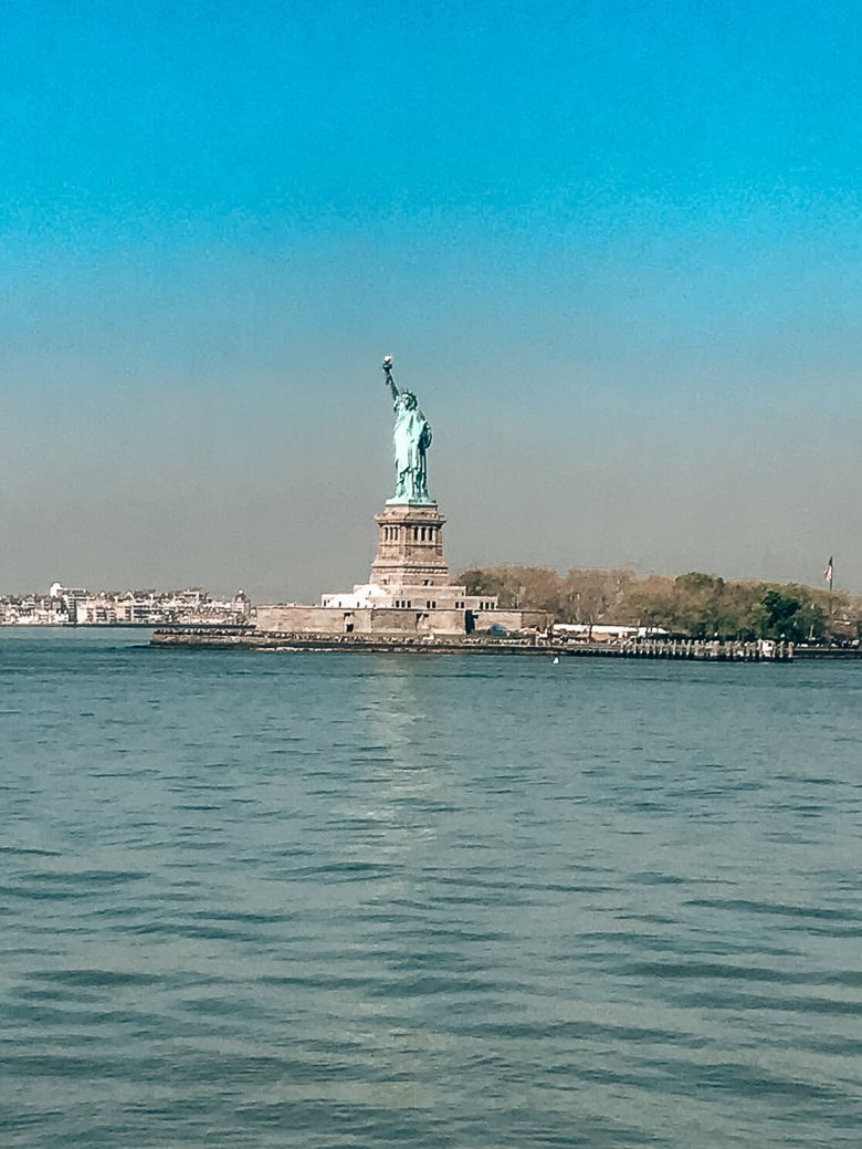 Staten Island ferry view