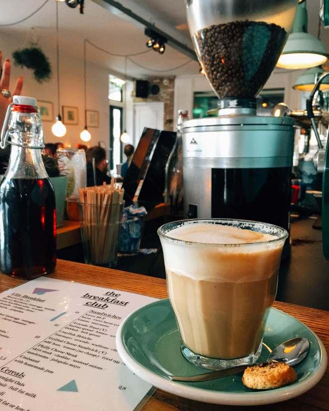 Coffee The Breakfast Club Amsterdam